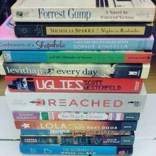 Assorted Books.(inc Pos)