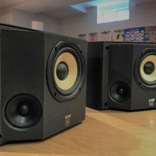 B&W DS6 Surround Sound Speakers