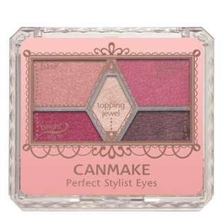 【現貨免運】🇯🇵 Canmake14 眼影五色 日本限定 超熱銷 Canmake 14號眼影 完美設計眼影 日本開架 #運費我來出 #郵寄免運