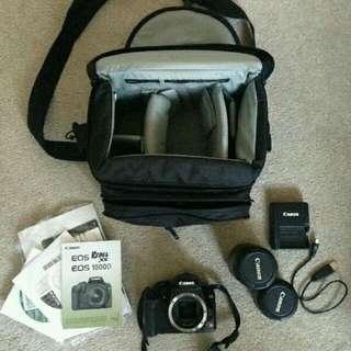 Canon Rebel XS EOS DSLR