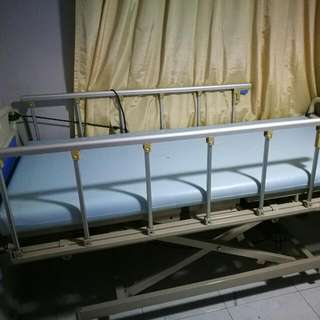 Free Electric Hospital Bed With Mattress