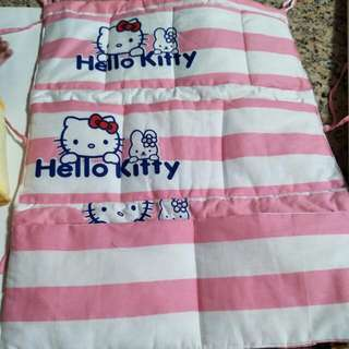 Kitty 嬰兒床尿布收納袋