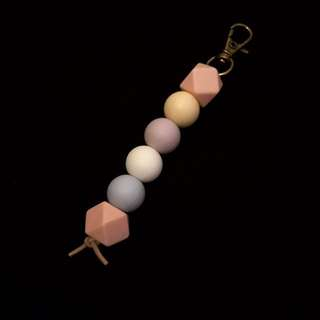 Silicone Beaded Key Chains