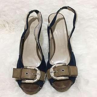 Navy High Heels (reprice)