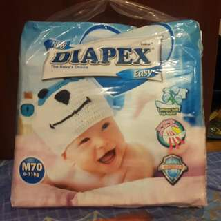 diapex diapers  M70 opened