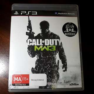 Call Of Duty - Modern Warfare 3 PS3 Game