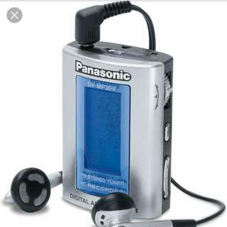 Panasonic Digital Audio Player And Recorder