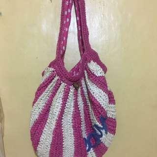 Roxy Beach bag made of paper