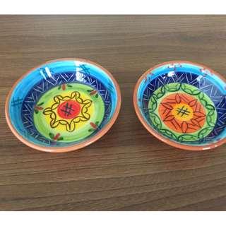 葡萄牙工藝品陶器小碟