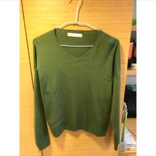 日本帶回 sense of place 質感針織毛衣
