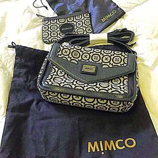 Mimco Hand Bag & Small Coin Pouch