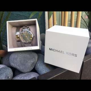 Michael Kors Watch & Bracelet. 100% Auth & New