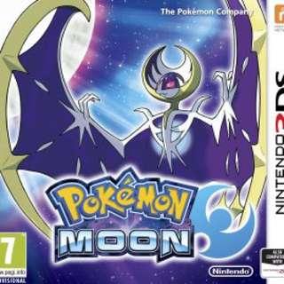 Pokemon moon NDS