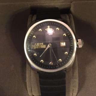 Vivienne Westwood 錶 男女啱戴 VV080BKBK
