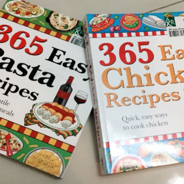 2 X Easy Recipe Books