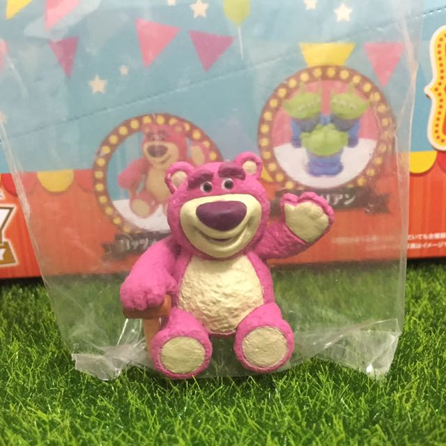 迪士尼 玩具總動員 熊抱哥 杯緣子