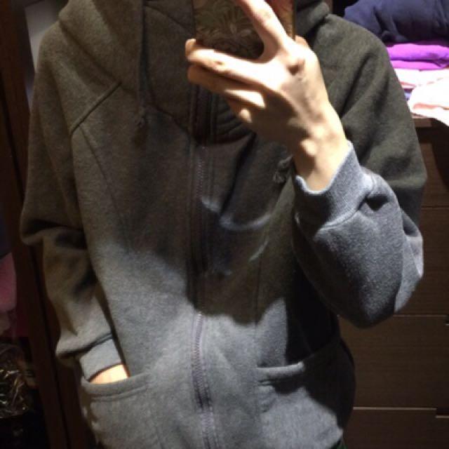 高領刷毛口袋外套