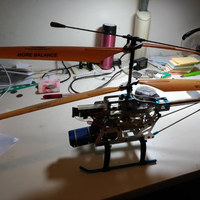 遙控直升機 故障機