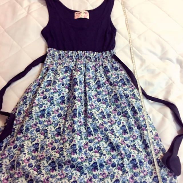 韓版 收腰小洋裝