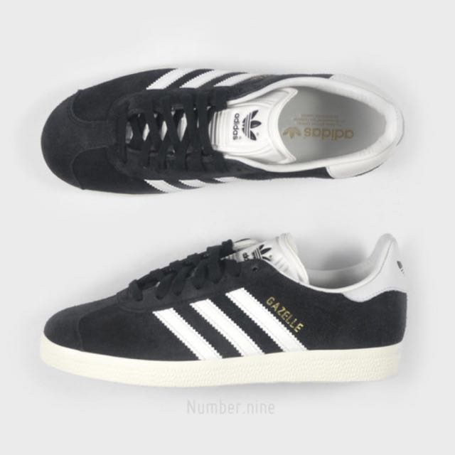 Adidas Gazelle Black Cream 23cm(版型為23.5可穿)水原希子著用款