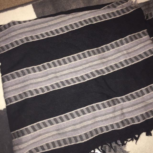 ARITZIA WILFRED Blanket Oversized Scarf Wool