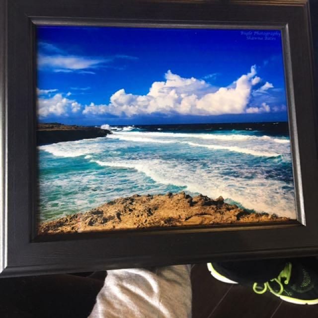 Aruba Beach Original Photo With Frame
