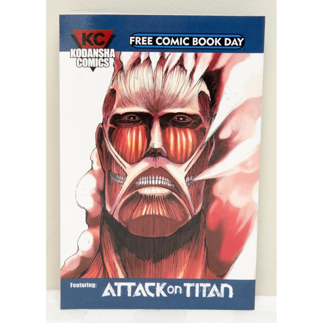Attack On Titan: Kodansha Comics - Free Comic Book Day 2015