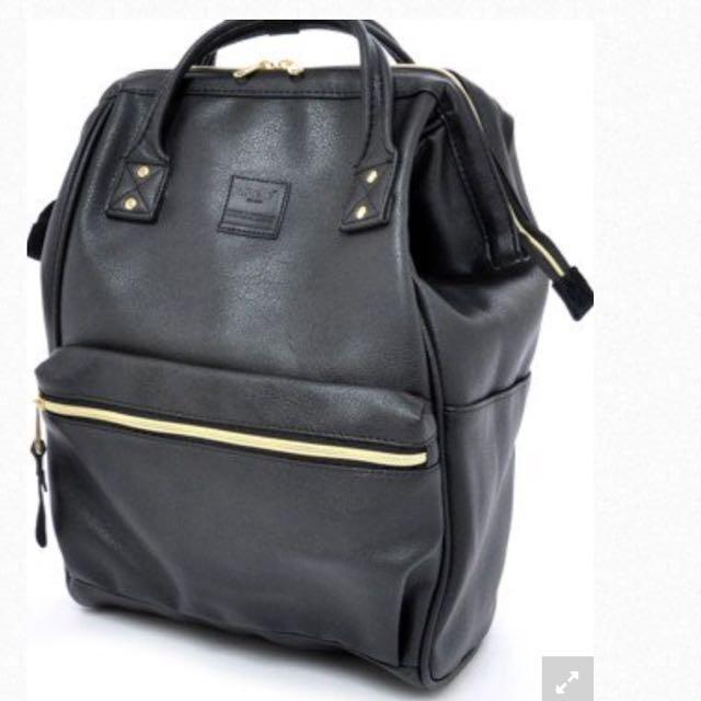 Authentic Anello Bag Leather L