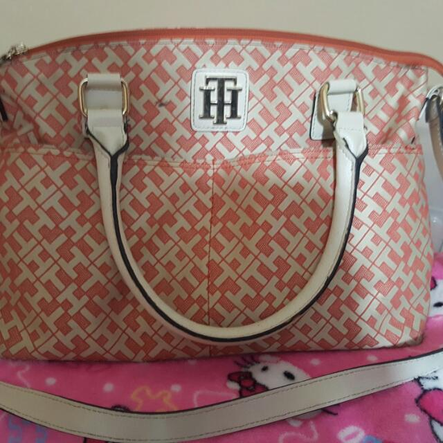 Authentic Tommy Hilfiger Hand Bag with sling