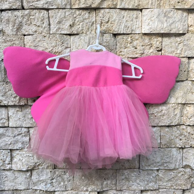 Baby Gown / Dress with wings