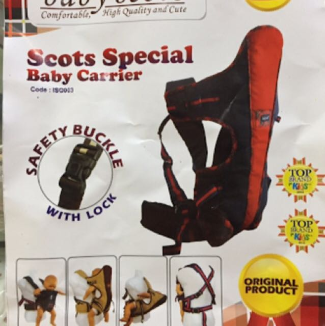 Baby Scots Baby Carrier
