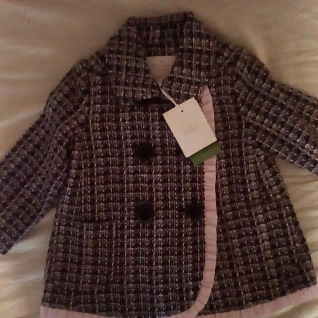 Baby Tweed  Kate Spade Jacket