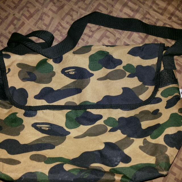 BAPE Messenger Bag