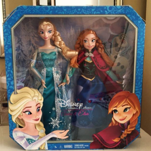 Barbie Disney Frozen Elsa & Anna