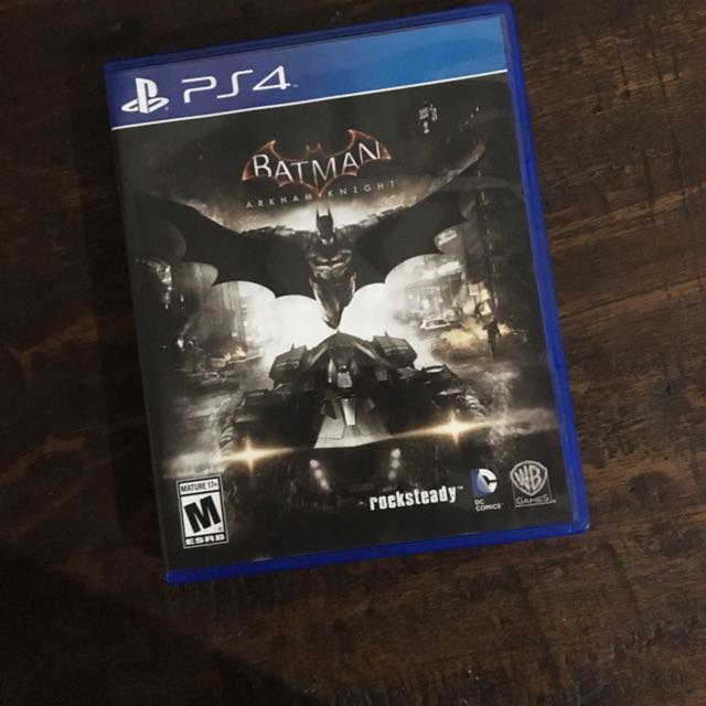 BATMAN Arkham Knight BD PS4