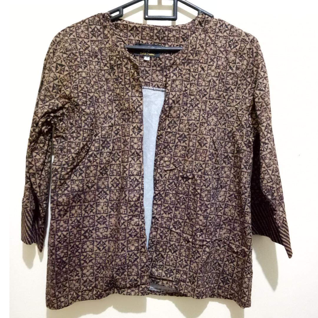 Blazer Batik Premium