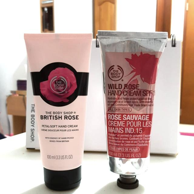 Body Shop British&Wild Rose Hand Cream