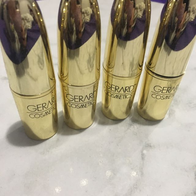 Brand New gerard Cosmetics Lipsticks