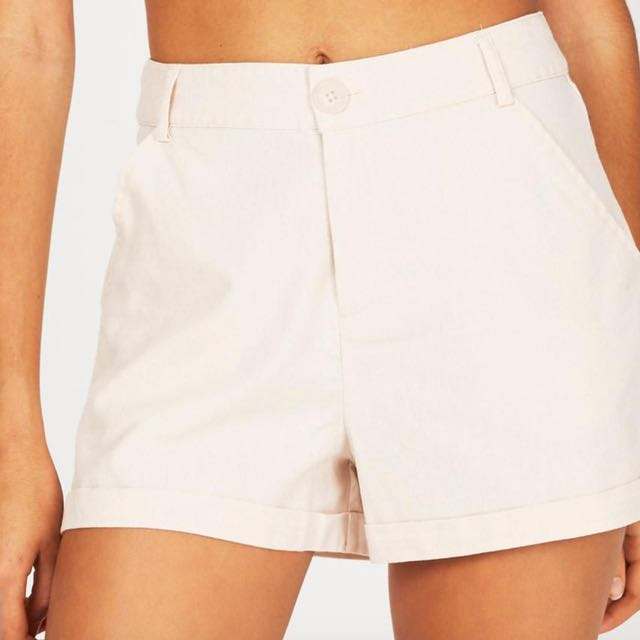 Brand New Subtitled Baby Pink Shorts Size 8