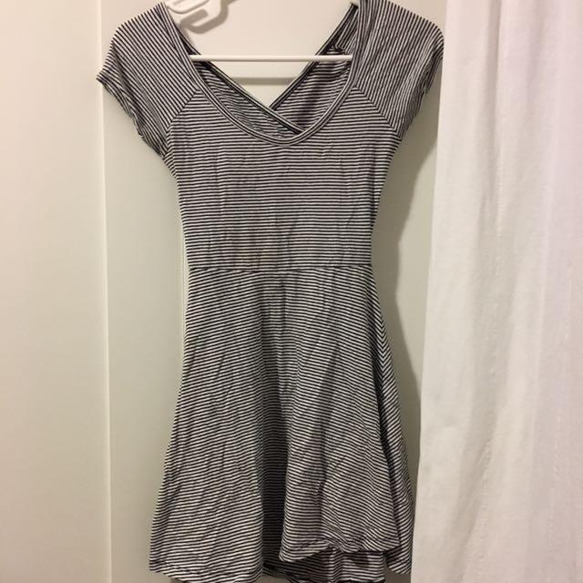 Brandy Melville Flare Dress W Cutout