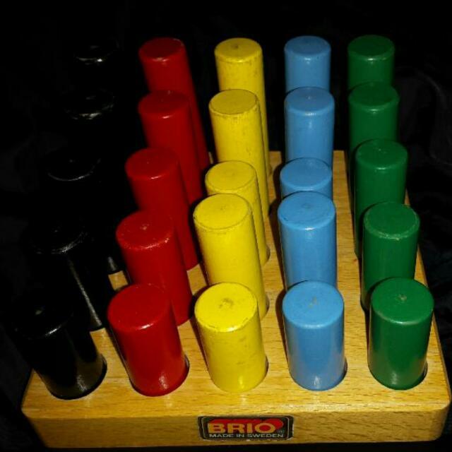 BRIO Vintage Wooden Toy Set