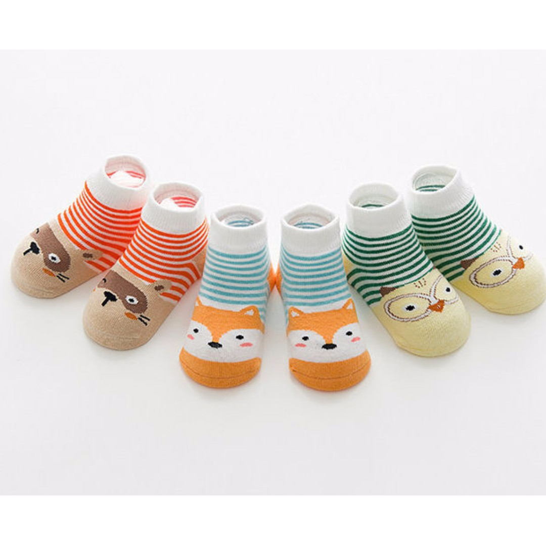 cartoon pororo socks for baby