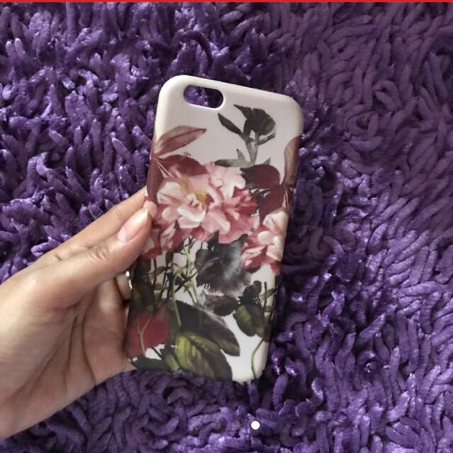 Case Iphone 6 Flowers