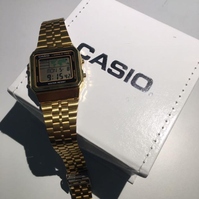 Casio World Watch