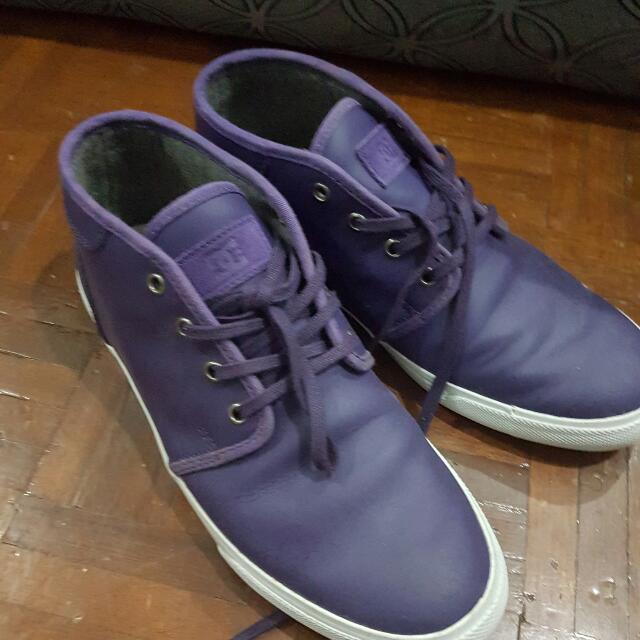 DC Midtop Skate Shoes US Size 8
