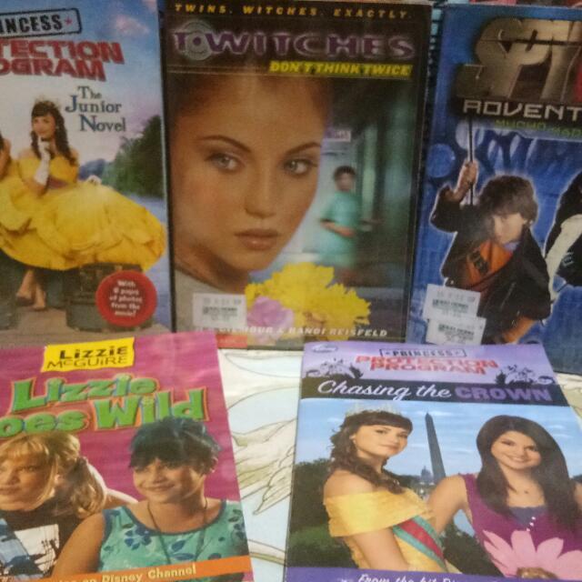 5 Disney Books Bundle