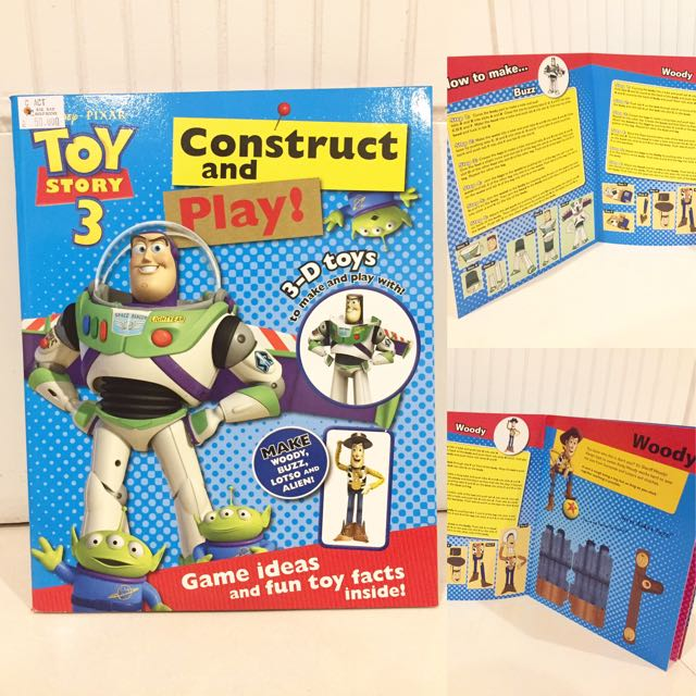 Disney Toy Story Construct and Play BBW 2017