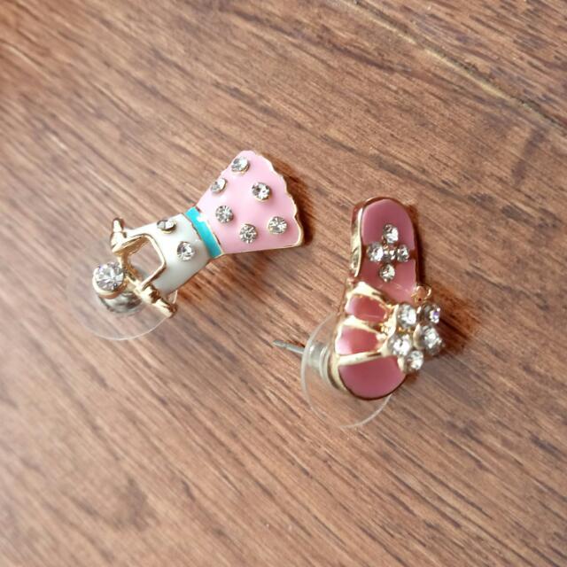 Dress And Sandal Earrings