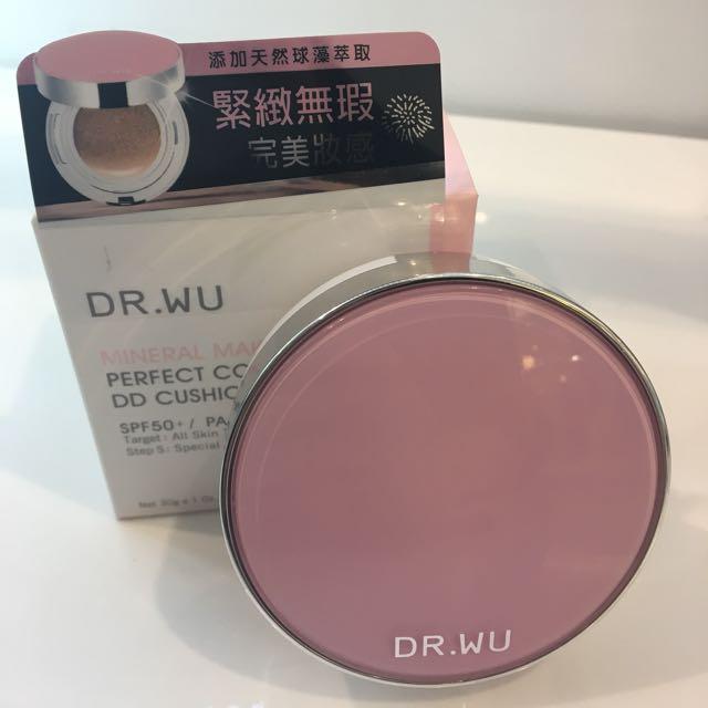 Dr.wu緊緻絲絨氣墊粉餅