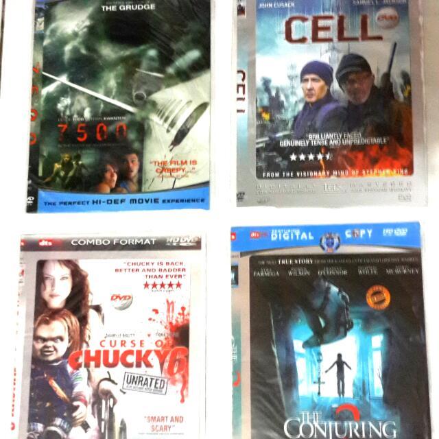DVD film Movie Horror DVD seri 9 Murah